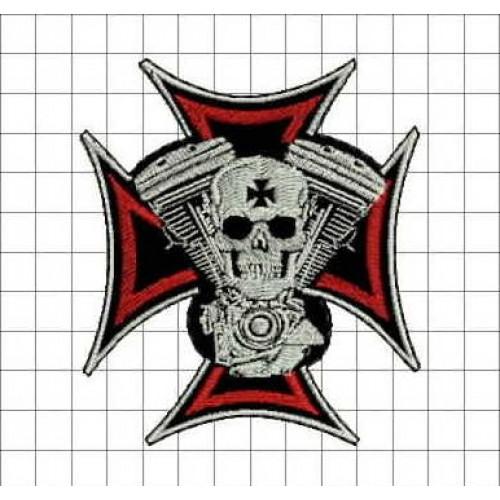Nášivka Valce + kríž /m