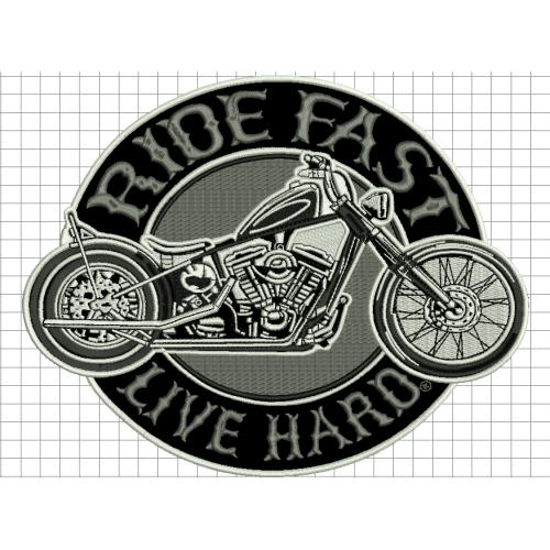 Nášivka Ride fast