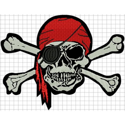 Nášivka pirát