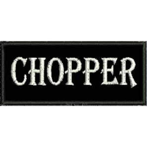 Nášivka Chopper malá