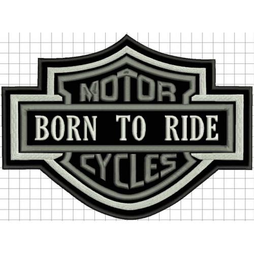Nášivka MotorCycles veľká