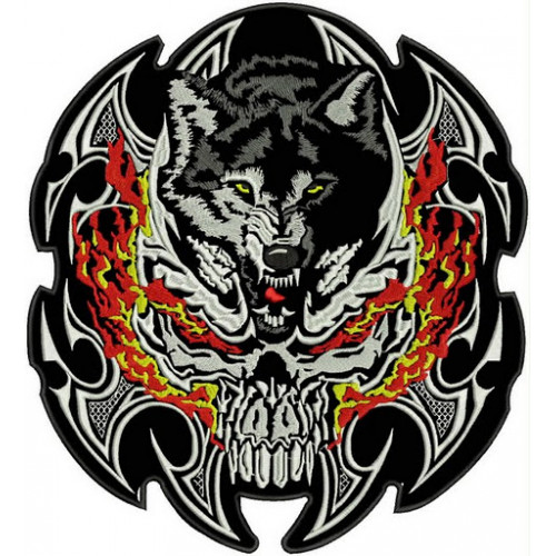 Nášivka vlk
