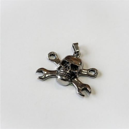 Kľúčenka chopper - Lebka/Kľúče