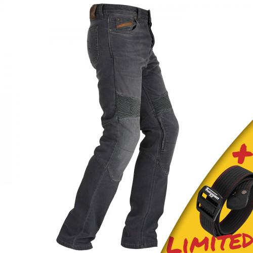 Furygan - jeans STEED / grey + darček