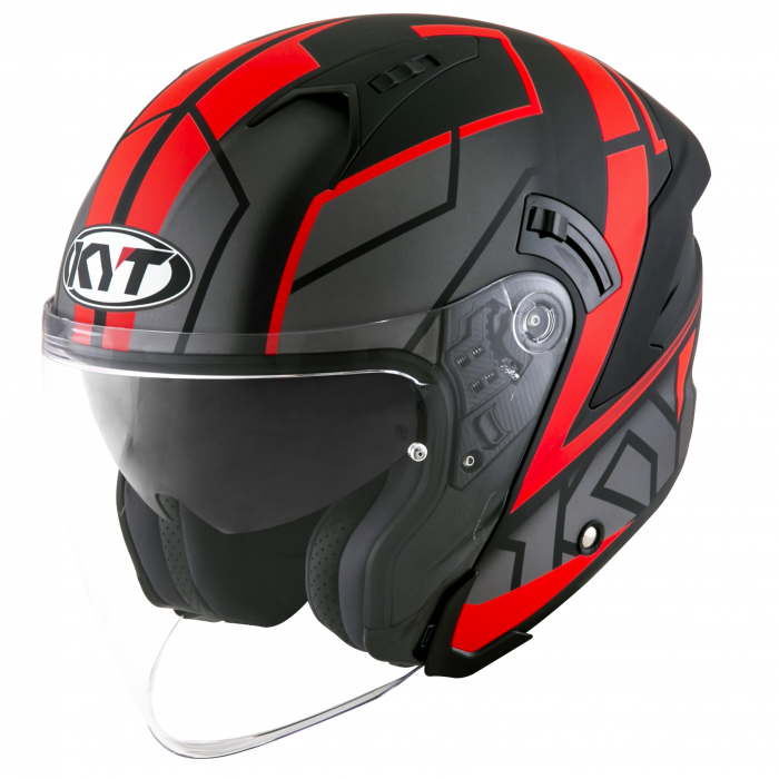 KYT NF-J - Motion matt red