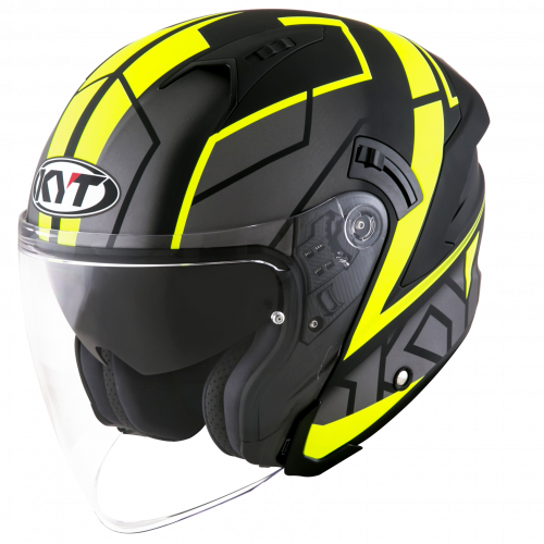 KYT NF-J - Motion matt yellow