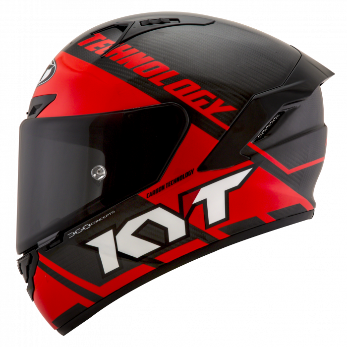 KYT NX-RACE - Carbon Red