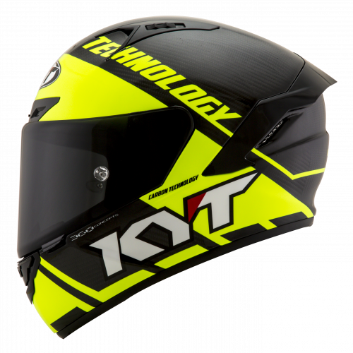 KYT NX-RACE - Carbon Yellow