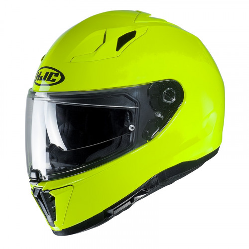 HJC i70 - SEMI FLAT FLUORESCENT GREEN