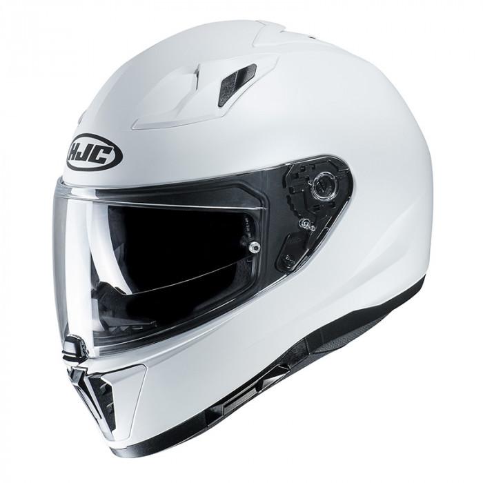 HJC i70 - SEMI FLAT PEARL WHITE RYAN