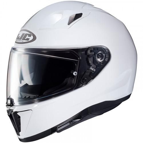 HJC i70 - METAL PEARL WHITE