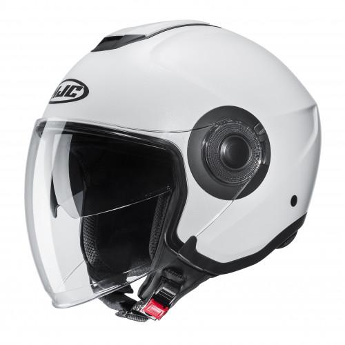 HJC I40 - SEMI FLAT PEARL WHITE