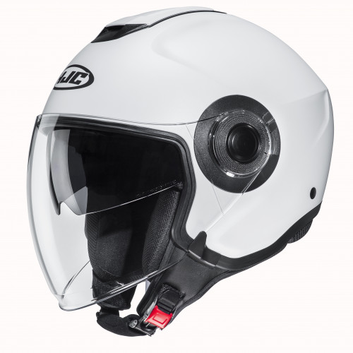 HJC I40 - SOLID PEARL WHITE