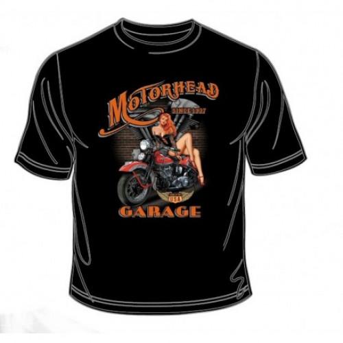 Tričko Motorhead Garage