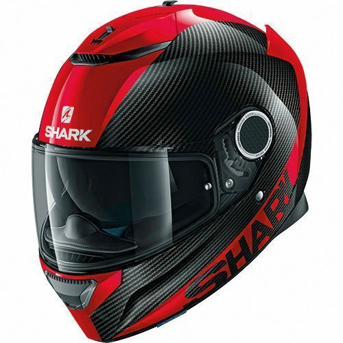 Shark Spartan - CARBON SKIN Red