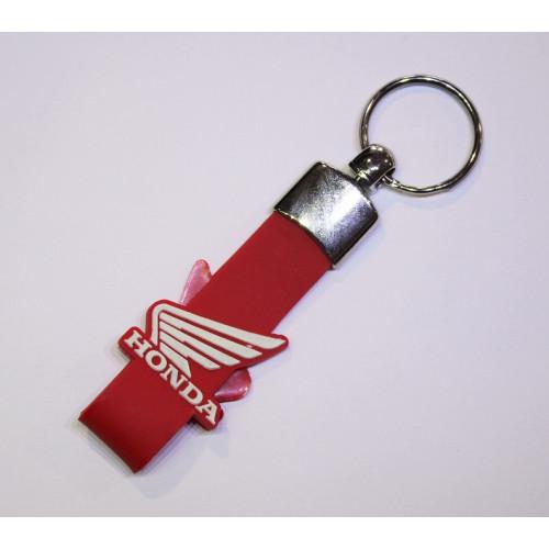 Kľúčenka HONDA gum Červená