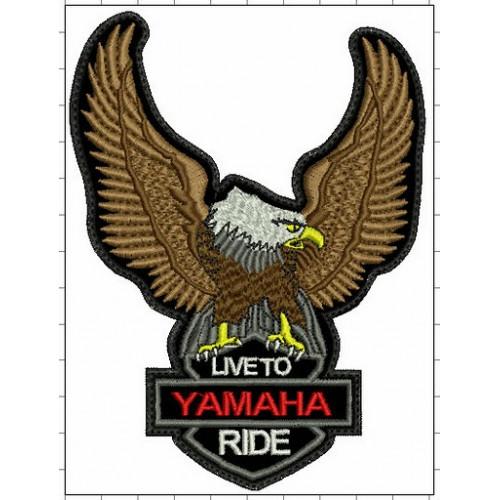 Nášivka orol Yamaha malá