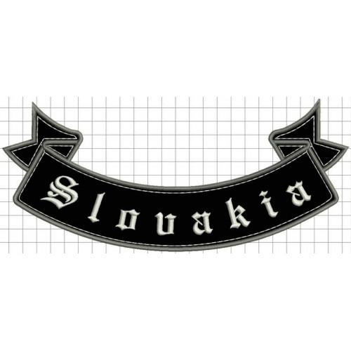 Nášivka slovakia spodná